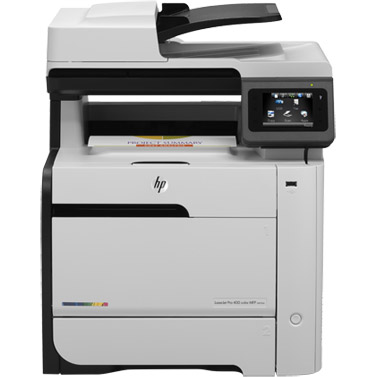 HP Color LaserJet Pro 400 MFP M475dw printer