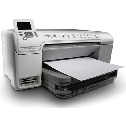 HP PhotoSmart C5380 printer
