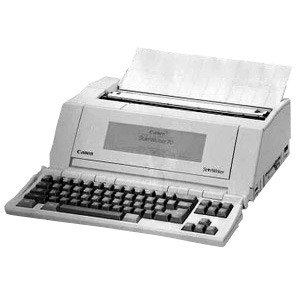 Canon Starwriter-60-WP printer