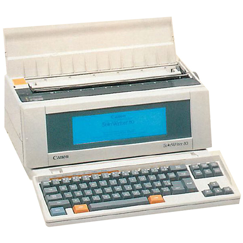 Canon Starwriter-85-WP printer