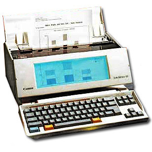 Canon Starwriter-95-WP printer