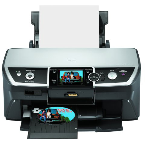 Epson Stylus Photo R380 printer