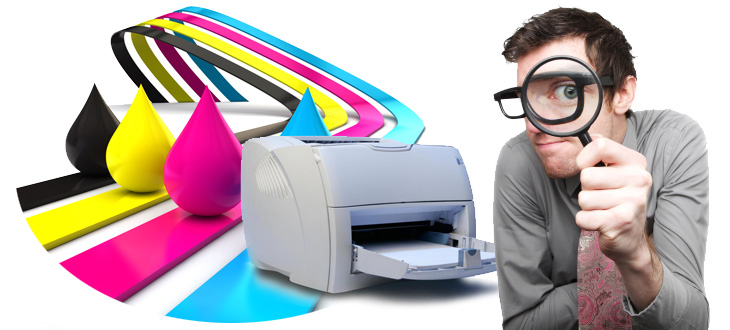 man with printer>