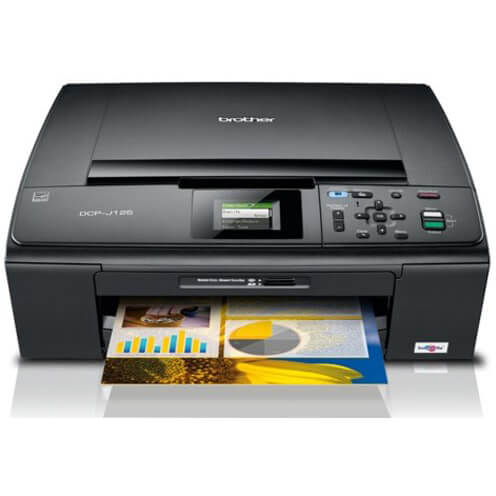 BROTHER MFC J125 PRINTER