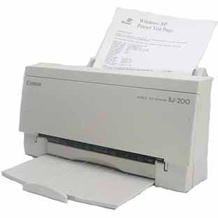 CANON BJ 200E PRINTER