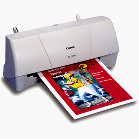 CANON BJC 2010 PRINTER