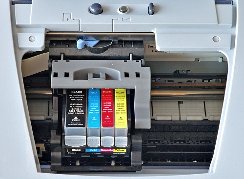 changing ink cartridges