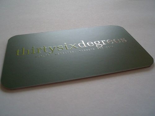 variety of coatings and special printing cards