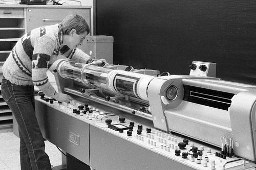 first functioning digital scanner