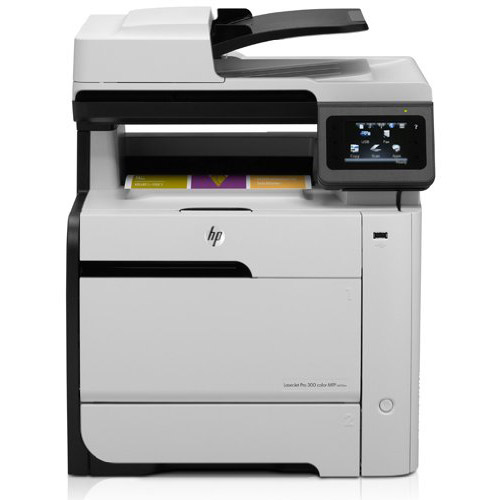 HP LASERJET PRO 300 COLOR M375NW PRINTER