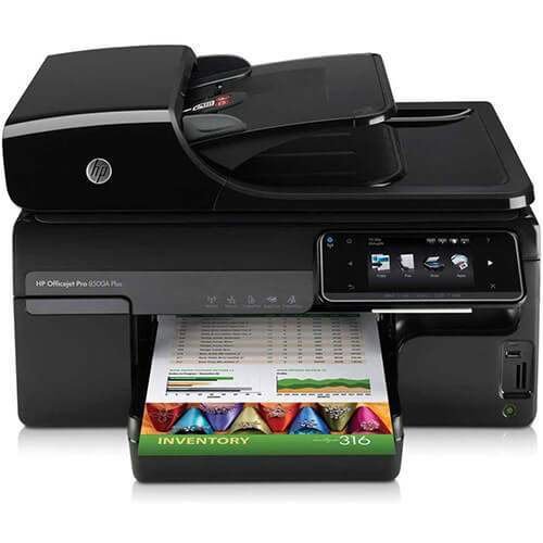 HP OFFICEJET PRO 8500A PLUS PRINTER