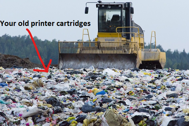 recyclable ink cartridges