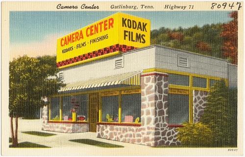 kodak film camera center