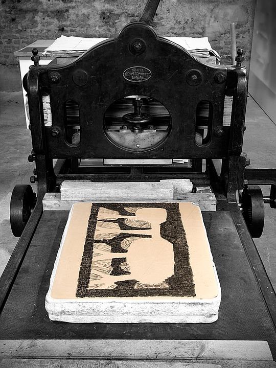 lithograph printing
