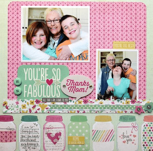 Mother's Day Scrap Book