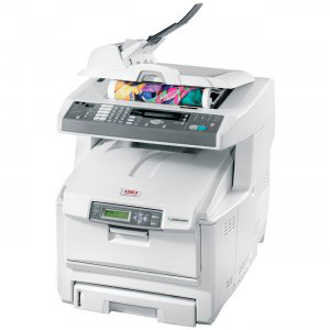 OKIDATA OKI C5550N MFP PRINTER
