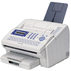 PANASONIC PANAFAX DX800 PRINTER