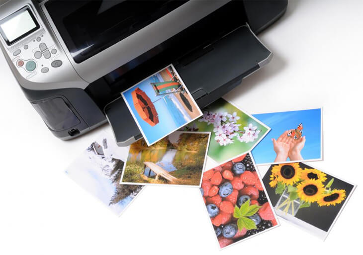 Printed photographs