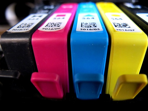 replacing ink cartridges