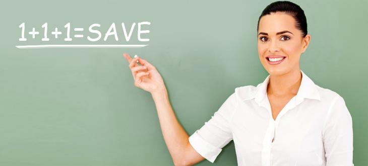 saving money for classroom supplies