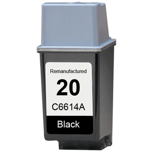 HP 20 - C6614A Black replacement