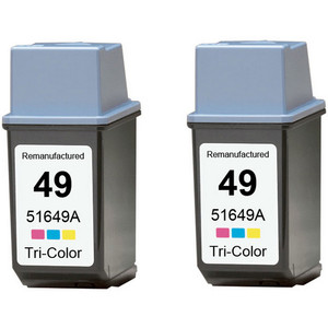 HP 49 - Color 2-pack replacement