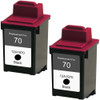 Lexmark #70 - 12A1970 Black 2-pack replacement