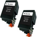 Canon BC-20 Black 2-pack replacement