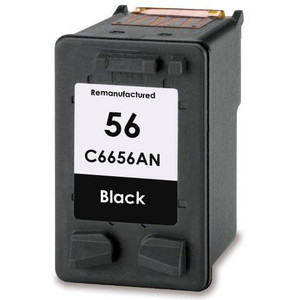 HP 56 - C6656AN Black replacement
