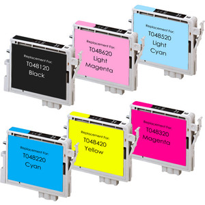 Epson T048 Black and color Set replacement