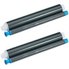2 Pack - ribbon roll refills for Panasonic KX-FA93