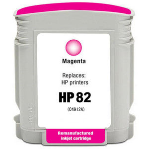 HP 82 - C4912A Magenta replacement