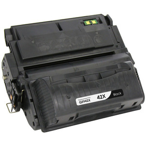 black toner cartridge for HP 42X (Q5942X)