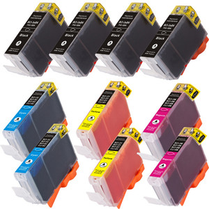 Canon BCI-3e Black and Color 10-pack replacement