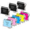 Epson T048 Color and Black Set 8-pack replacement