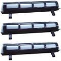3 Pack - black toner cartridge for Panasonic KX-FA83