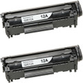 HP 12A - Q2612A 2-pack replacement
