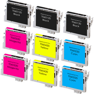 Epson T060 Set 9-Pack replacement