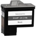 black ink cartridge for Sharp UX-C70B