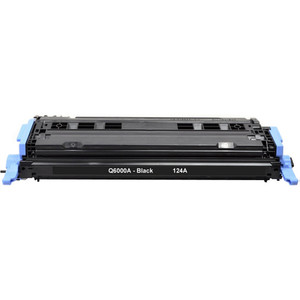HP 124A - Q6000A Black replacement