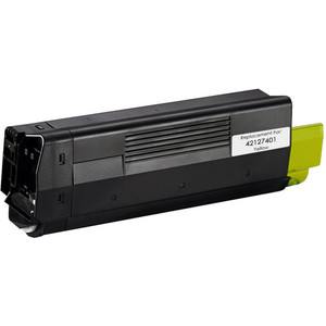 Okidata 42127401 yellow toner cartridge