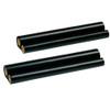 2 Pack - ribbon roll refills for Sharp UX-3CR