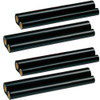 4 Pack - ribbon roll refills for Sharp UX-3CR