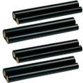 4 Pack - ribbon roll refills for Sharp UX-3CR
