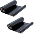 2 Pack - ribbon roll refills for Sharp UX-15CR