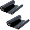 2 Pack - ribbon roll refills for Sharp UX-10CR
