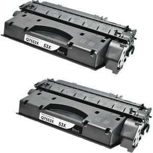 HP 53X - Q7553X 2-pack replacement