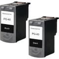 Canon PG-40 Black 2-pack replacement