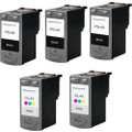 Canon PG-40 - CL-41 Set 5-Pack replacement