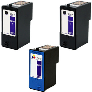 Dell Series 7 Black and color cartridge Set